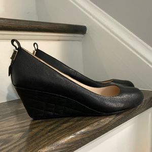 Cole Haan Heel Leather Black Shoes 7B
